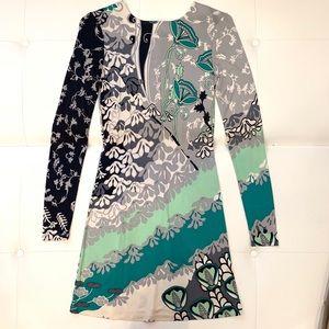 JULIE BROWN Silk Dress Sz S
